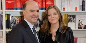 Pierre Moscovici : sa compagne Marie-Charline, 25 ans, sort (enfin ?) de l'ombre
