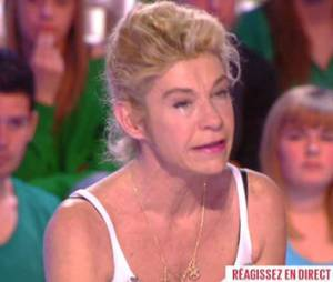 """Frigide Barjot fond en larmes sur le plateau du Grand 8 : """"J'en ai marre"""" - vidéo"""