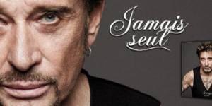 Johnny Hallyday/ Jamais seul : au Virgin Megastore des Champs Elysées dimanche soir