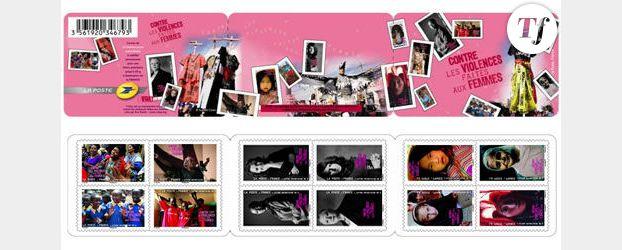 Des timbres contre la violence faite aux femmes
