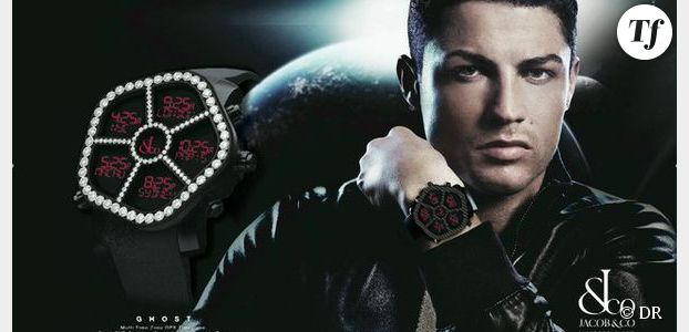 Cristiano Ronaldo ambassadeur des montres Jacob & Co