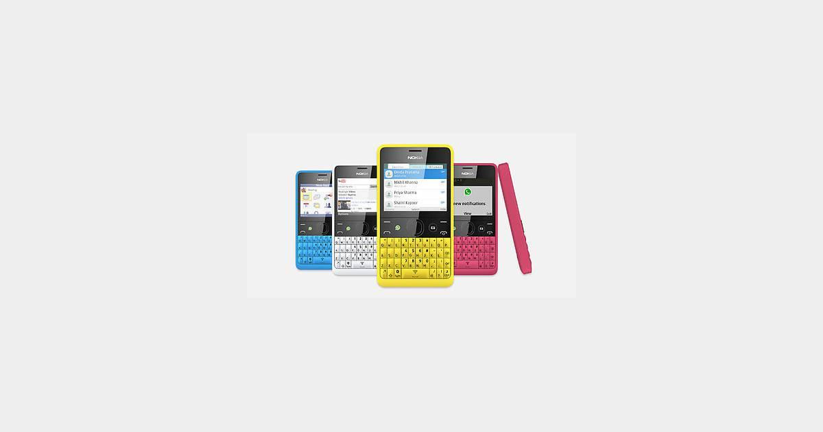 asha 210 le smartphone pas cher et social de nokia. Black Bedroom Furniture Sets. Home Design Ideas