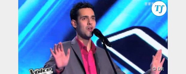 The Voice 2 : Yoann Fréget chante Vole de Céline Dion– Vidéo TF1 Replay