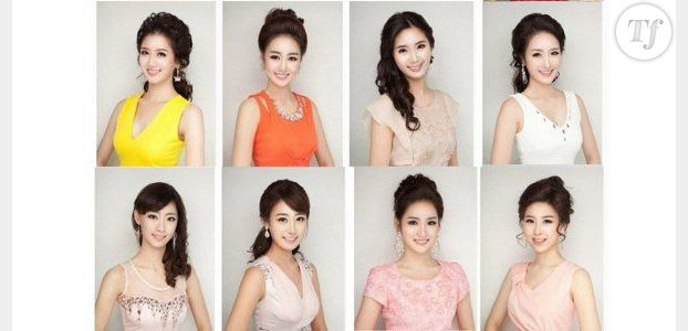 Miss Corée du Sud 2013 : abus de chirurgie esthétique chez les candidates - photos