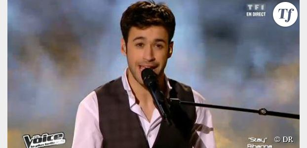 The Voice 2 : Anthony Touma chante Stay de Rihanna – Vidéo TF1 Replay