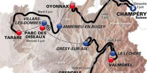 Critérium du Dauphiné 2013 : parcours, diffusion TV et étapes en direct live streaming