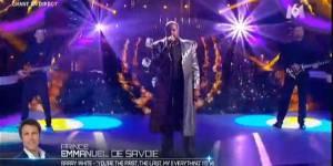 Un air de star : Emmanuel de Savoie en Barry White – Vidéo M6 Replay