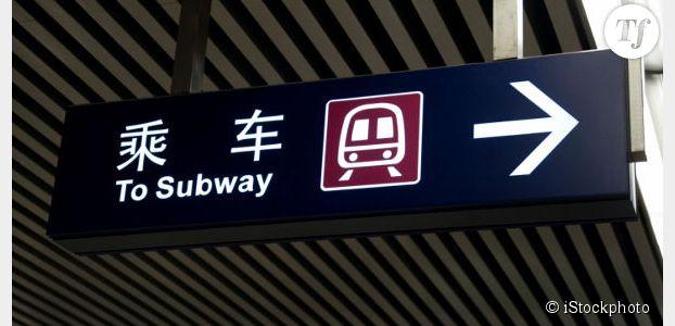 La minijupe dans le métro déconseillée aux femmes de Pékin