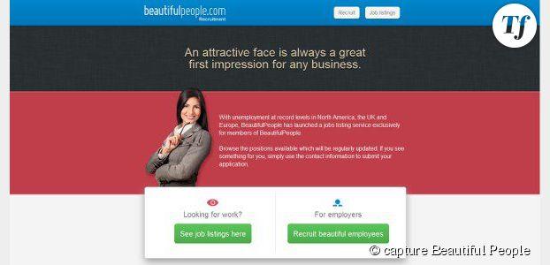 BeautifulPeople : Site de rencontres aux emplois réservés aux belles personnes