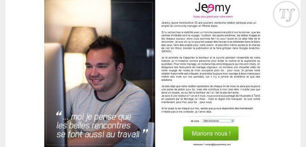 cv original   un community manager copie meetic pour trouver un job