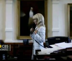 La sénatrice Wendy Davis prononce un discours de 10h pour sauver l'avortement