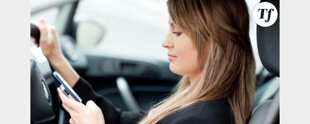 10 % des automobilistes utilisent leur smartphone au volant
