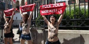Femen Tunisie : de retour en France, le combat continue pour Amina Tyler
