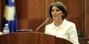 Kosovo : une femme de la Police élue présidente par le parlement