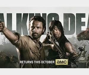 The Walking Dead : première affiche de la saison 4