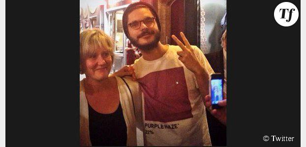 Nadine Morano et le t-shirt pro-cannabis de son admirateur amusent Twitter