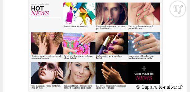 Nail art : l'Oréal Paris lance son site internet dédié à la beauté des ongles