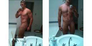 George Burgess pose nu sur Internet et fait scandale