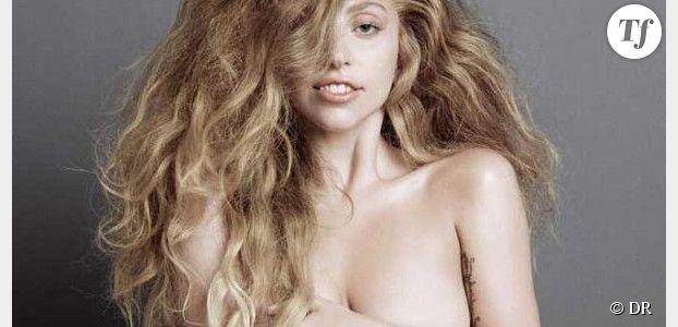 Lady Gaga : la chanteuse pose nue pour promouvoir son prochain album Artpop