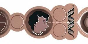 Google Doodle : Rosalind Franklin à l'honneur