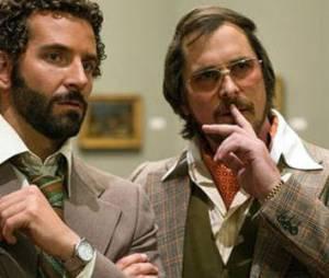 American Hustle: Bradley Cooper et Christian Bale réunis à l'écran