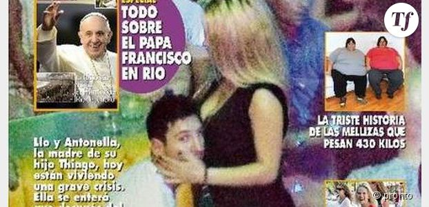 Photo de Messi et une call-girl à Vegas en couverture de Pronto : info ou intox ?