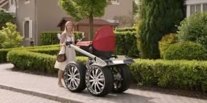 Škoda invente la poussette XXL pour les papas