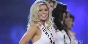Miss Islande 2013 : des militantes veulent stopper le concours