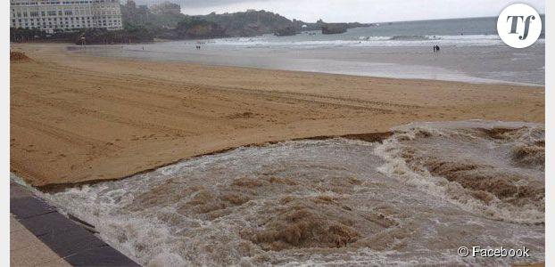 Biarritz : le déversement des eaux usées indigne Facebook