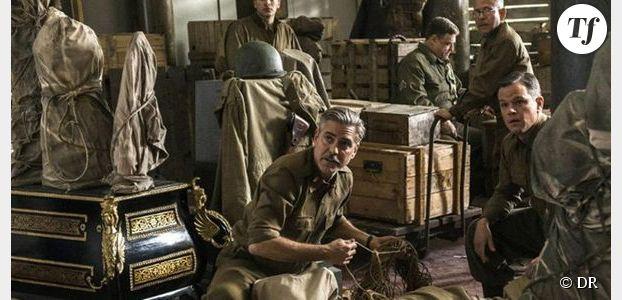 The Monuments Men : George Clooney et Matt Damon font la guerre aux nazis