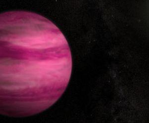 La NASA découvre une planète rose bonbon et ultra-légère
