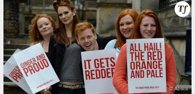 Ginger Pride : une marche contre le racisme anti-roux à Édimbourg