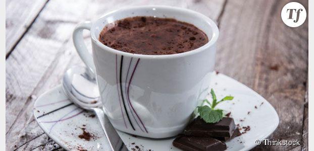 Le chocolat chaud serait bon pour la santé des seniors