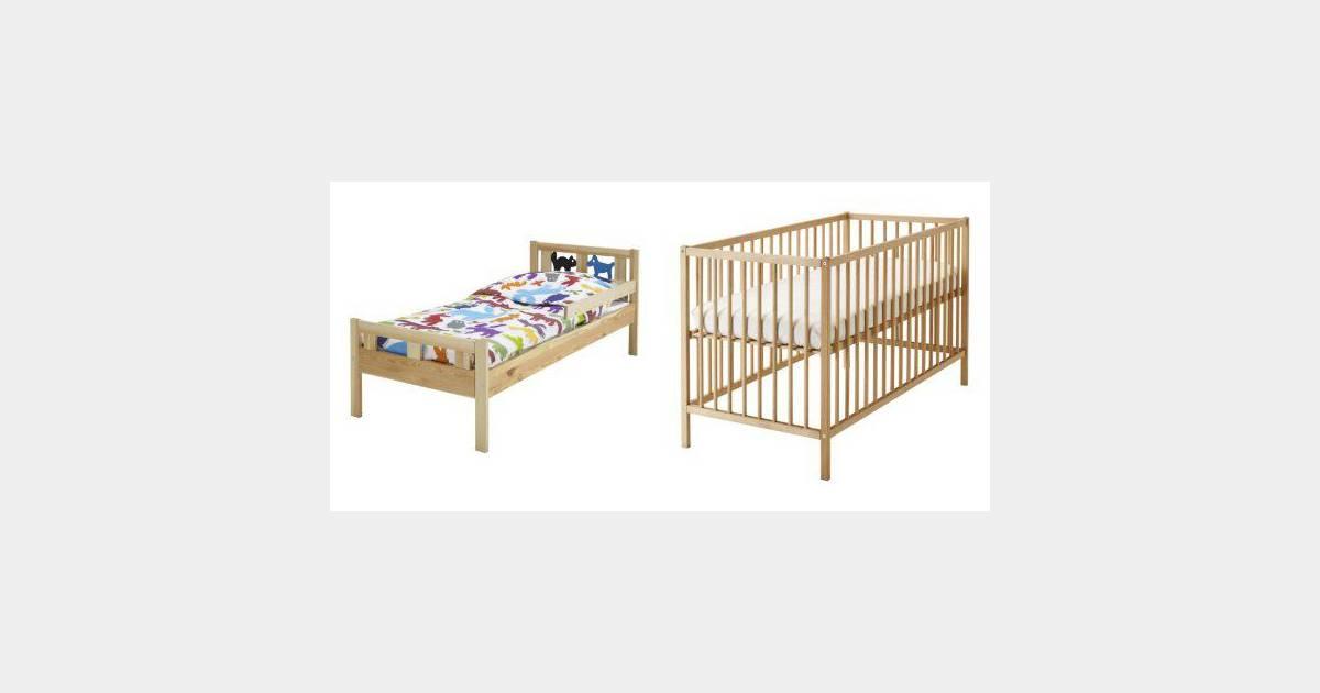 ikea rappelle des lits pour enfants pour pr venir un risque de lac ration. Black Bedroom Furniture Sets. Home Design Ideas