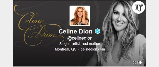 Céline Dion ouvre son compte Twitter officiel