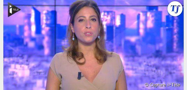 """""""J'ai fait péter le décolleté"""" : Léa Salamé gaffe sur i>Télé - vidéo"""