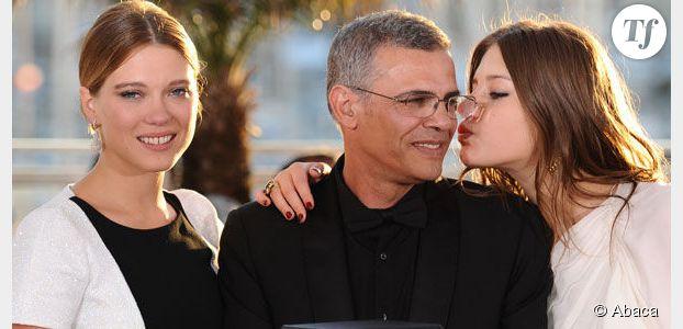 """La Vie d'Adèle : Kechiche clashe Léa Seydoux, """"née dans le coton"""""""