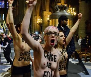 Femen jugées pour leur action à Notre-Dame : que risquent-elles ?