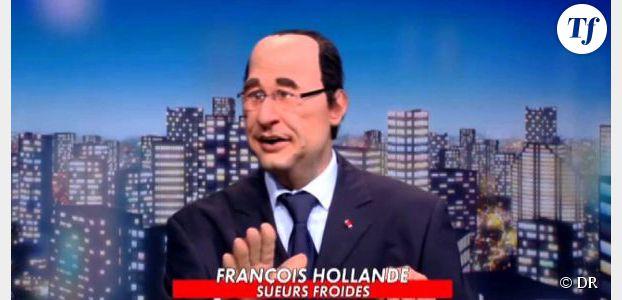 Guignols de l'info : François Hollande chante du Stromae