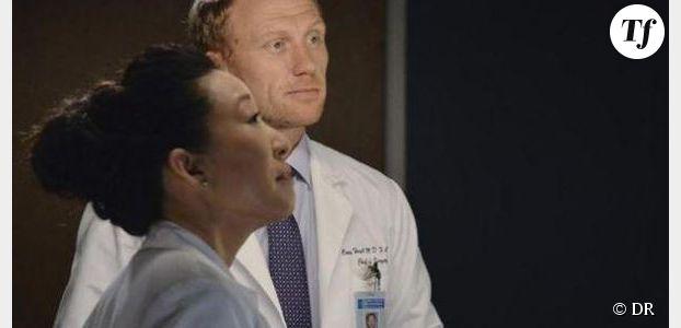 Grey's Anatomy Saison 10 : photo du couple Owen & Cristina (Spoilers)