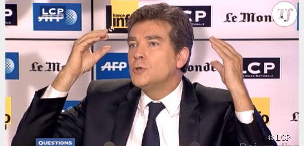 """Arnaud Montebourg perd son calme : """"Vous avez un problème avec votre cerveau !"""""""