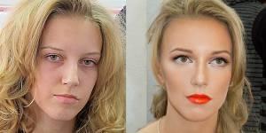 Comment un maquilleur transforme des femmes ordinaires - photos avant/après