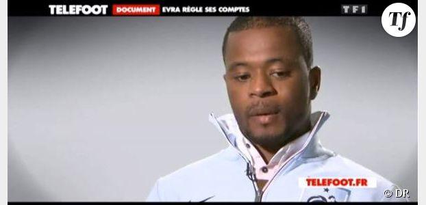 Téléfoot : Patrice Evra ou l'interview qui fait scandale – TF1 Replay