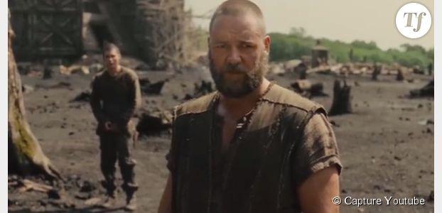 Russel Crowe impressionne dans le film Noé - vidéo