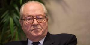 """Christiane Taubira """"anti-française"""" : le nouveau dérapage de Jean-Marie Le Pen"""