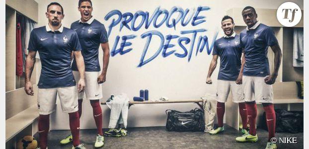 Coupe du Monde 2014 : le nouveau maillot de l'équipe de France