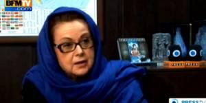 Christine Boutin, voilée, critique François Hollande à la télévision iranienne - vidéo