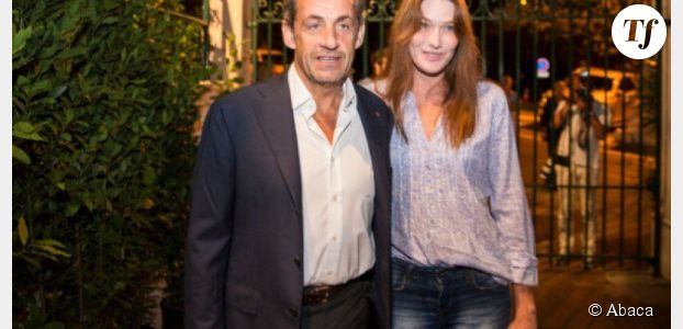 Carla Bruni et Nicolas Sarkozy stars du Casino de Paris