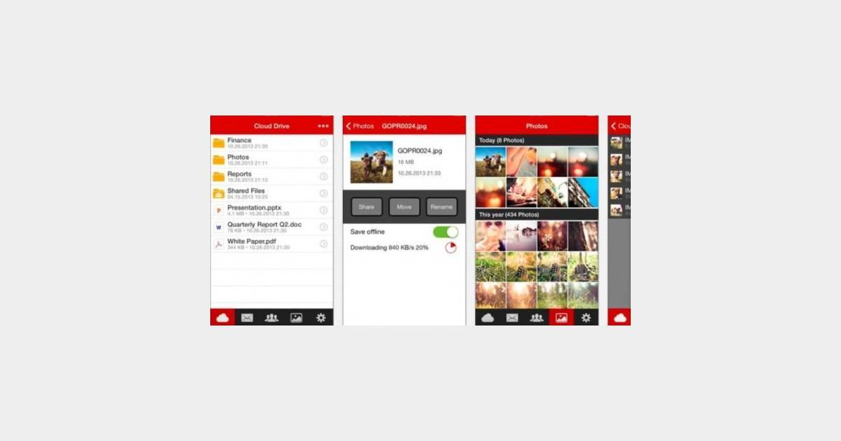 Mega l 39 application pour iphone et ipad enfin disponible for Application miroir pour ipad