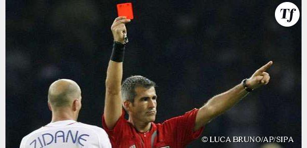 Coup de tête de Zinedine Zidane : l'arbitre dit tout sur l'expulsion du joueur